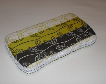 Baby Wipes Case, Travel Wipes Case With Leaf Print