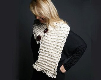 Accordion Neck Warmer Crochet Pattern