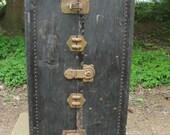 Vintage Belber Upright Steamer Wardrobe Trunk