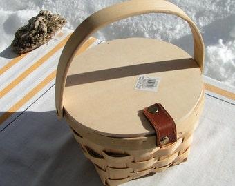 Unfinished Wooden Basket - Craft Project  - Make your own Easter or Flower Basket