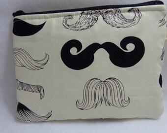 Makeup Bag: Mustache