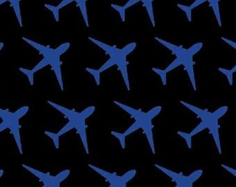 Flyboy by Windham W Fabrics, Airforce Fabric, Airplane Fabric, 1 yard fabric