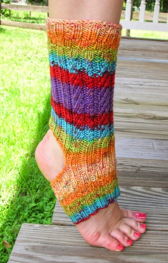 KNITTING PATTERN In The Mix Yoga Socks Yoga Socks Knitting