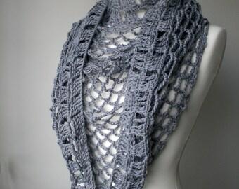 Crochet patterns, Summer Evening shawl crochet pattern (146)