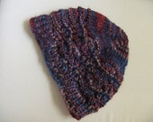 Coliumo Multy Lace Handknit Woman's Wool and Silk Hat