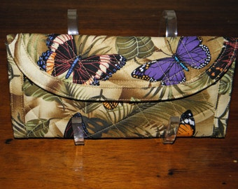 Fabric Wallet - quilted