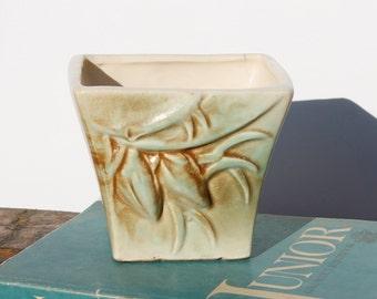 Vintage McCoy Jardiniere Rustic Vase or Planter