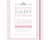 Princess Baby Shower Invitations - Little Lady
