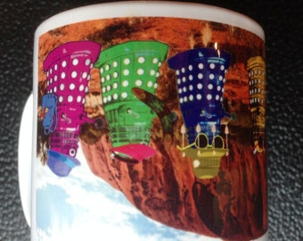 Dr Who Daleks as Tourists in Australia Mug