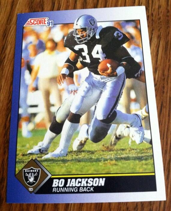 1991 Bo Jackson La Raiders Football By Scomax On Etsy