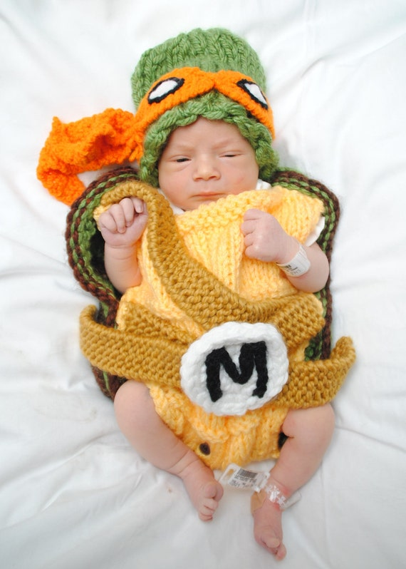 ... Newborn Ninja Turtle Outfit for kids ...  sc 1 st  mtmtv.info & Newborn Ninja Turtle Outfit. 19 best images about baby shower baby ...