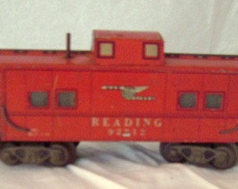MARX TOYS O Scale Reading 92812 Caboose
