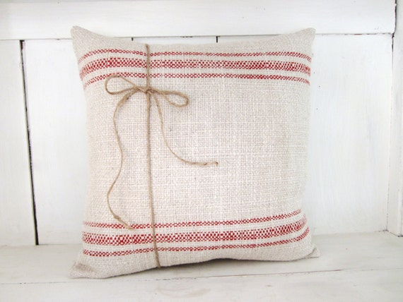 Shabby Chic Christmas Pillows : Farmhouse pillow christmas pillowdecorative by 112FarmhouseLayne