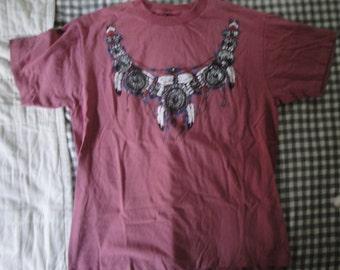Vintage Native American Necklace Tshirt