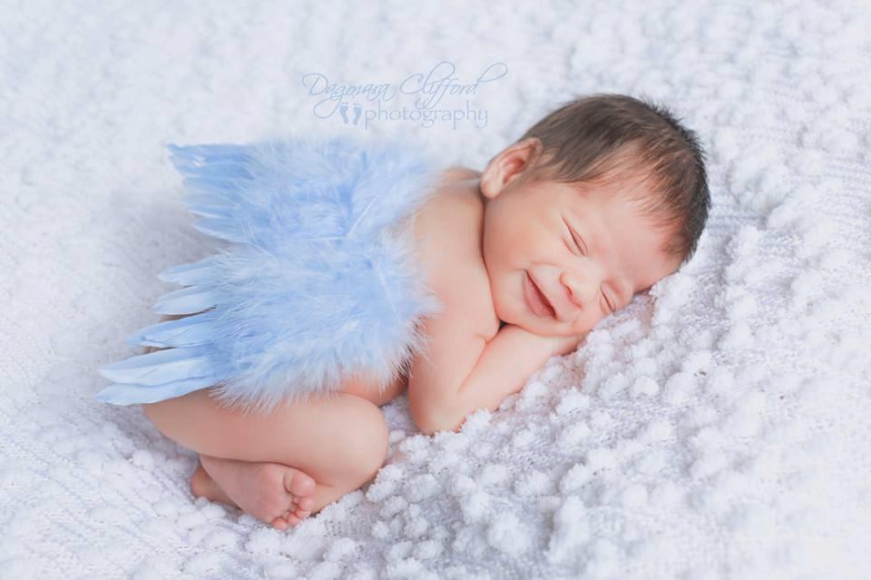 Baby Blaue Nägel