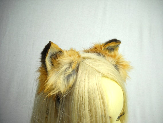 how to make fox ears headband