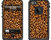 Lifeproof iPhone 6 Fre, LifeProof iPhone 5 5S 5C Fre Nuud, Lifeproof iPhone 4 4S Fre Case Decal Skin Cover - Leopard Spots