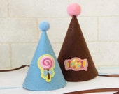 Lollipop and Candy Felt Party Hat For Dogs