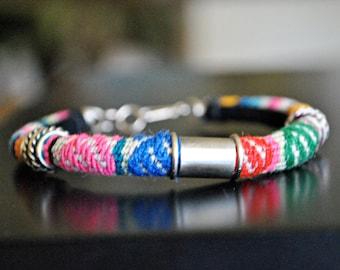 HANDMADE PERUVIAN WOOL bracelet
