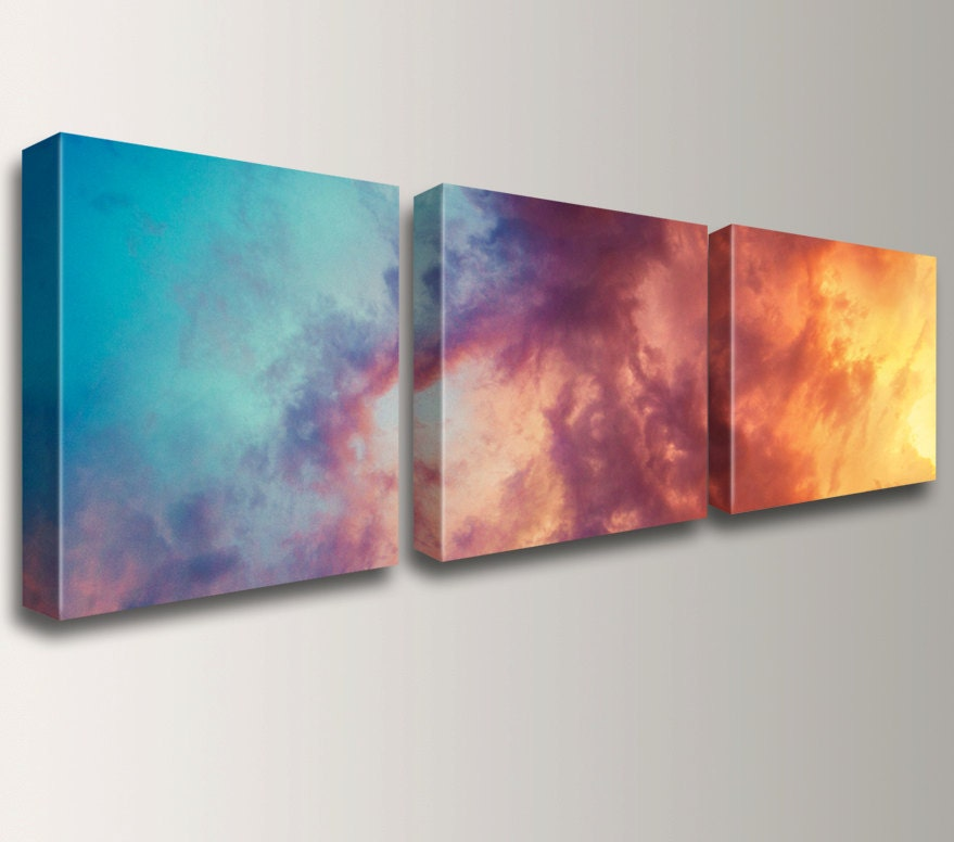 Canvas triptych 3 panel art wall art grouping unique for 3 panel wall art