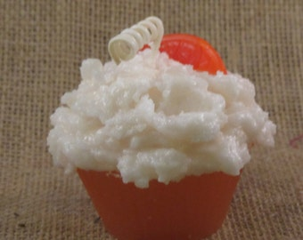Orange Cream Cupcake Candle