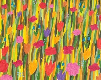 Flower Meadow POSTCARD