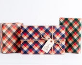 Lumberjack Plaid Wrapping Paper