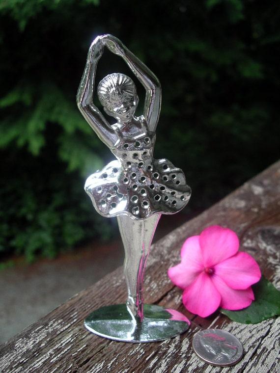 Vintage Ballerina Earring Holder Torino Ballet Dancer