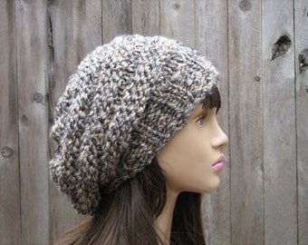 Knit Hat - Slouchy  Hat  - Winter Accessories Autumn Accessories Fall Fashion