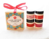 Lotion Sampler Set, gift set, gift for teacher,  floral and citrus
