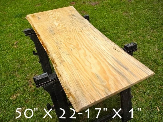 Live Edge Pine Solid Hardwood Wood Slab Natural Table Top Diy