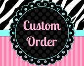CUSTOM ORDER for stephbarber21 bridal garter