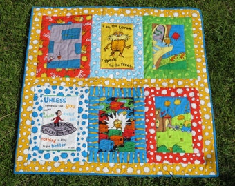 Lorax Baby Quilt or Wall Hanging