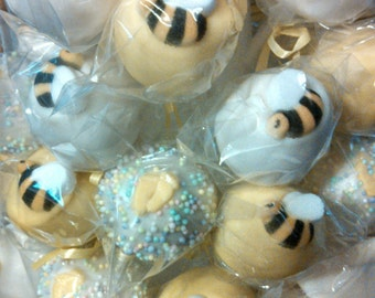Baby Shower  24 Cake Pops Or Cake Balls