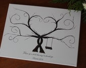 Baby Shower Thumbprint Tree