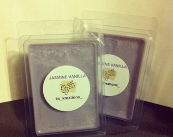 Jasmine Vanilla goodness Soy Candle Wax Melts
