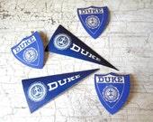 Office Supplies, Labels, Duke University, c. 1930s, 1940s, Gummed Labels, Stationery, Stickers, Vintage Ephemera, College, All Vintage Man