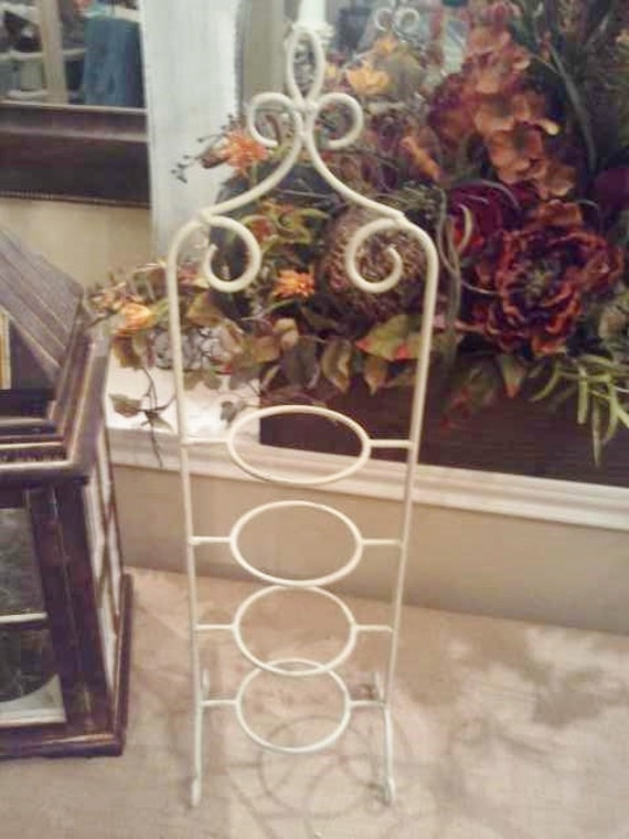 Tea Cup Holder 4 Tier Metal Tea Cup Stand Shabby By