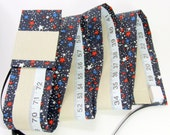 CHILD'S GROWTH CHART - Fabric Growth Chart - Patriotic