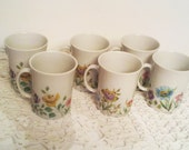 Vintage Mosa Maastricht Holland 6 Cups
