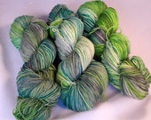 Ring Ding Ding on Max 80/20 SW Merino Nylon Hand dyed fingering weight sock yarn