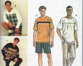 Men's  Simplicity 2 Hour Sport Separates Pattern, Shirt, Pants & Shorts, Simplicity 9326, Size 38-44