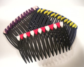 Custom Decorated Hair Comb