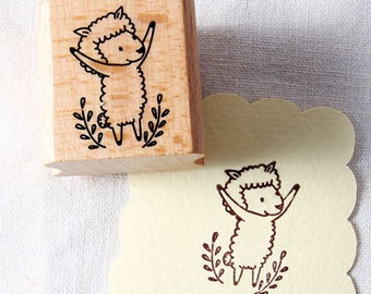 50% OFF SALE Sheep Rubber Stamp