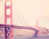 Golden Gate Bridge - 8x10 photograph - Vintage San Francisco - fine art print - retro photography - California photograph - San Francisco