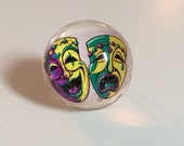 Mardi Gras Ring - New Orleans Ring - Mardi Gras Jewelry - Mardi Gras - The Big Easy - Ring - Resin Ring - Photo Ring - New Orleans