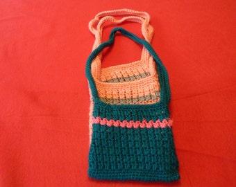 Hand Crocheted Baby Girl Shoulder bag