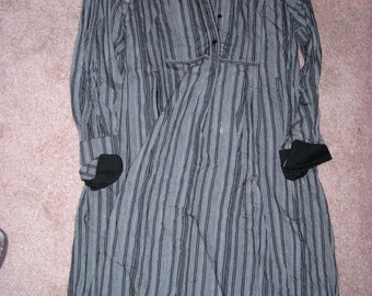 Vintage Kenzo Dress........Black and Gray High Waisted Easy Fit Kenzo  Paris Style....High Fashion