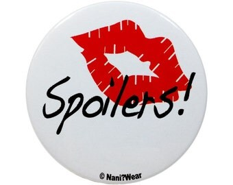 River Song 2-Inch 11th Doctor Button: Spoilers