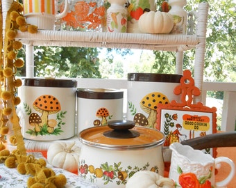 Popular items for 70s kitchen decor on Etsy